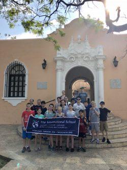 Spanish track students in Merida